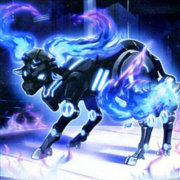 Flame Buffalo - Artwork by korotime on DeviantArt
