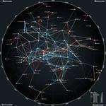 50ly XY-Planar Star Map II