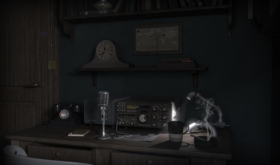 Radio Amador Scene by Omessler