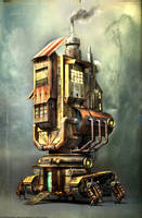 RobotHouse by Omessler