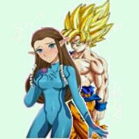 Goku x Zelda by SonGokuSaiyan1