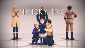 Memory Trio by yumenosakuichi