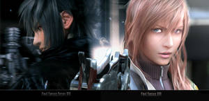 XIII Noctis AnD Lightning