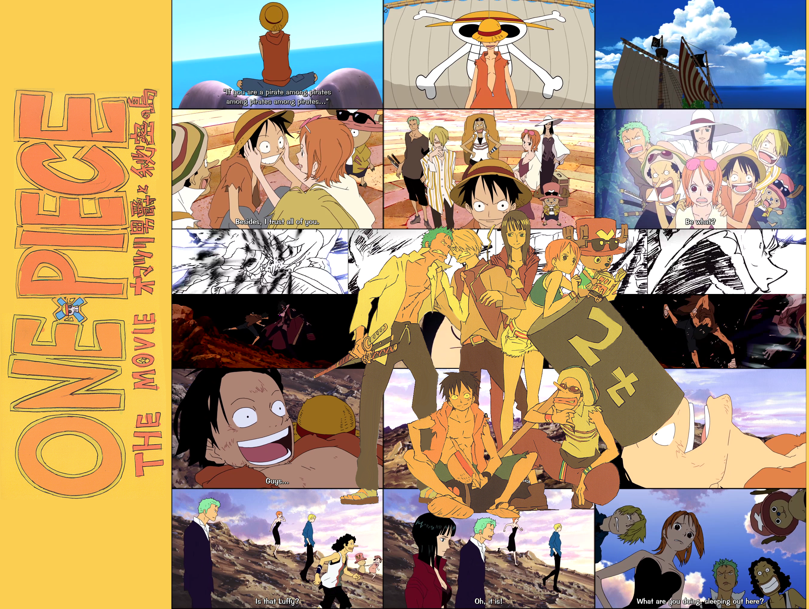 Download Video One Piece The Movie 5 & 6 [sub english]   ZETMOBILE™