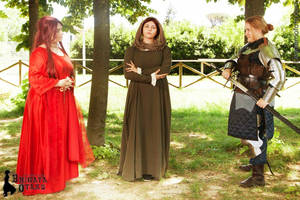 The Meeting - Melisandre, Catelyn, Brienne. by Padfoot-D