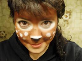 Waldgeist - make up test by Padfoot-D