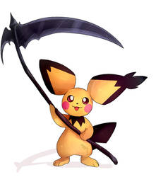 hey pichu, what you got there?