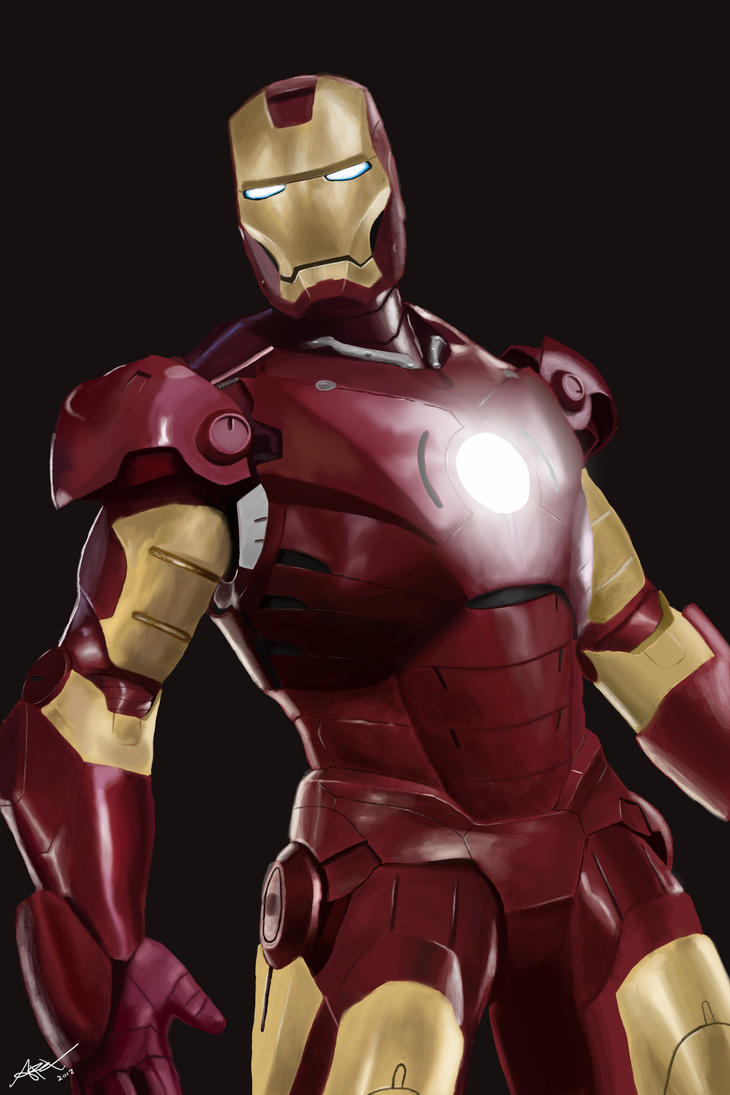 Ironman study by Drawer888
