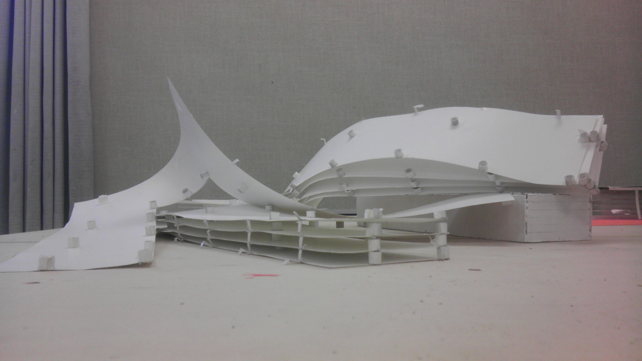 Deconstructivist Architectural Model Study By Drawer888 On