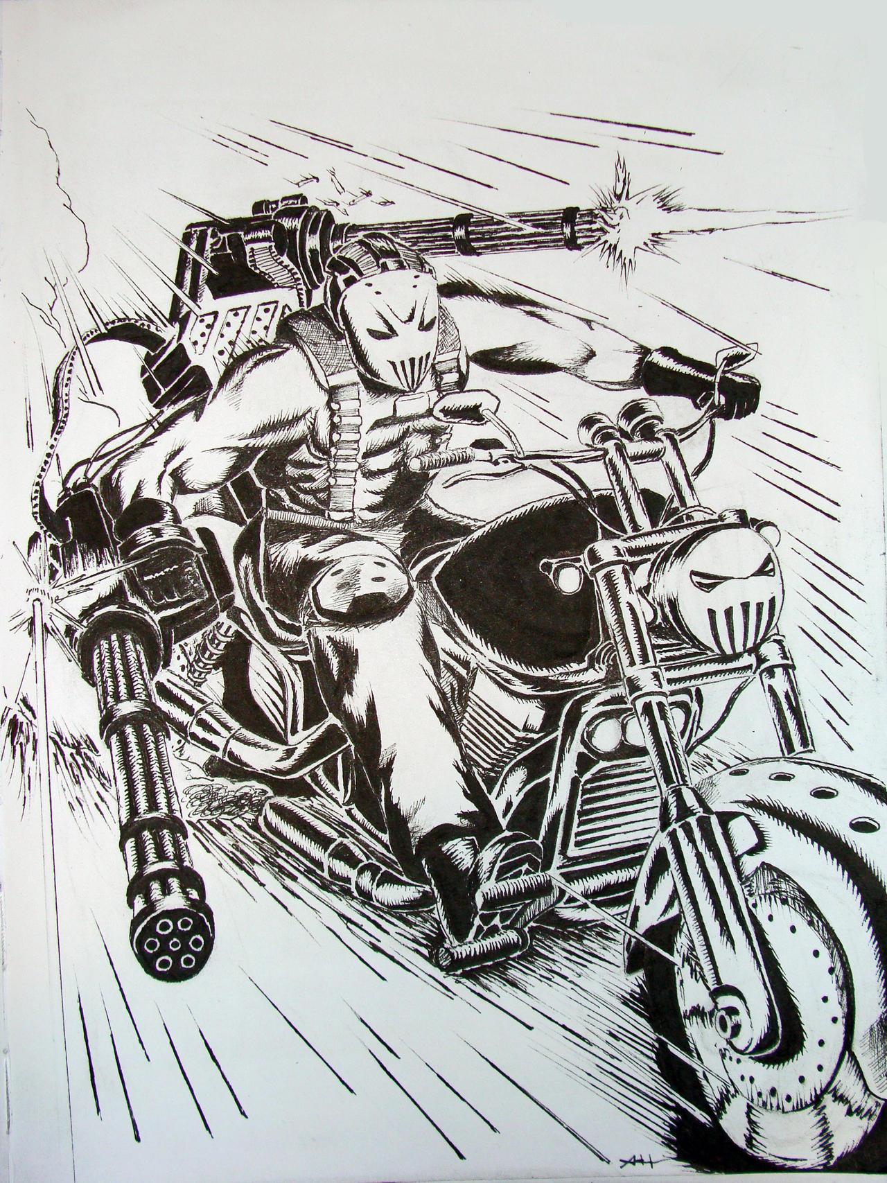 Anime Motorcycle Guy Crazy Motorcycle Guy Kinda