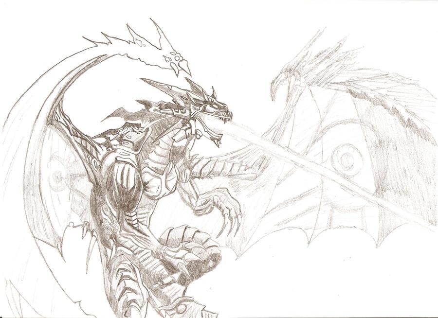 Evil Dragon by NatoChr...
