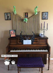 Haunted Mansion haunted organ by TheImagineEars