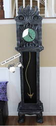 Haunted Mansion 13 hour monster clock by TheImagineEars