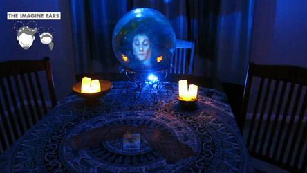 Haunted Mansion Madame Leota Seance head by TheImagineEars