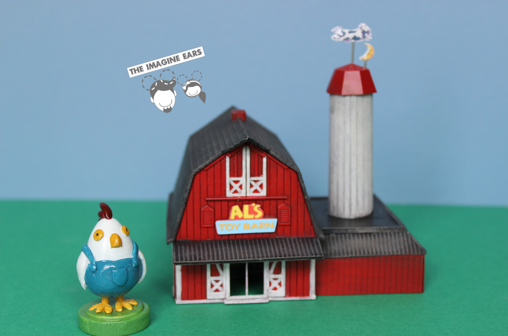 1:87 scale miniature of Toy Story 2 Al's Toy Barn by TheImagineEars