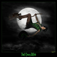 That Crazy Witch by didi-mc