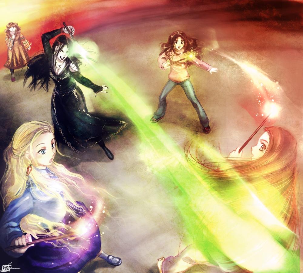 HP7 Spoiler Battle of Hogwarts