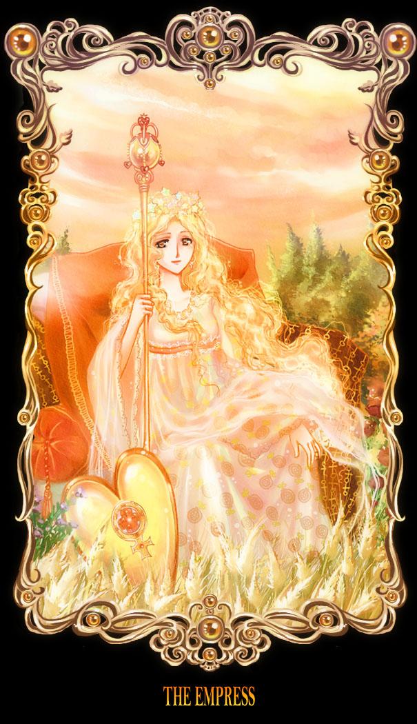 Tarot cards : the empress by Tidi-Lebre