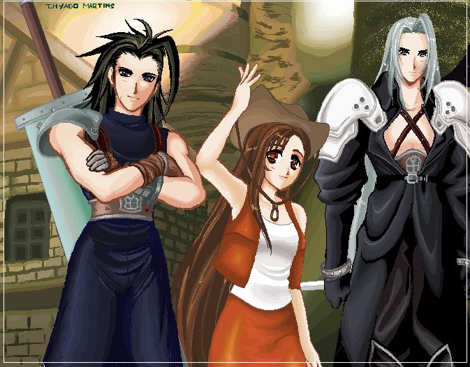 final fantasy 7 by Tidi-Lebre