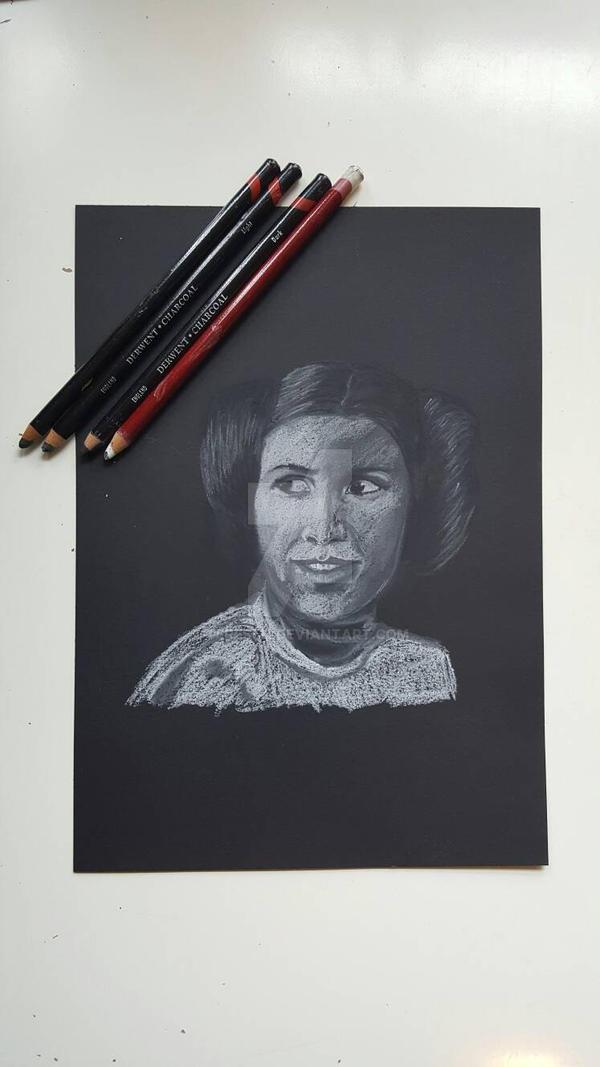 Leia Organa  by tereseh