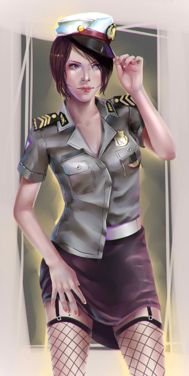 Police Woman by Rocketbatzu
