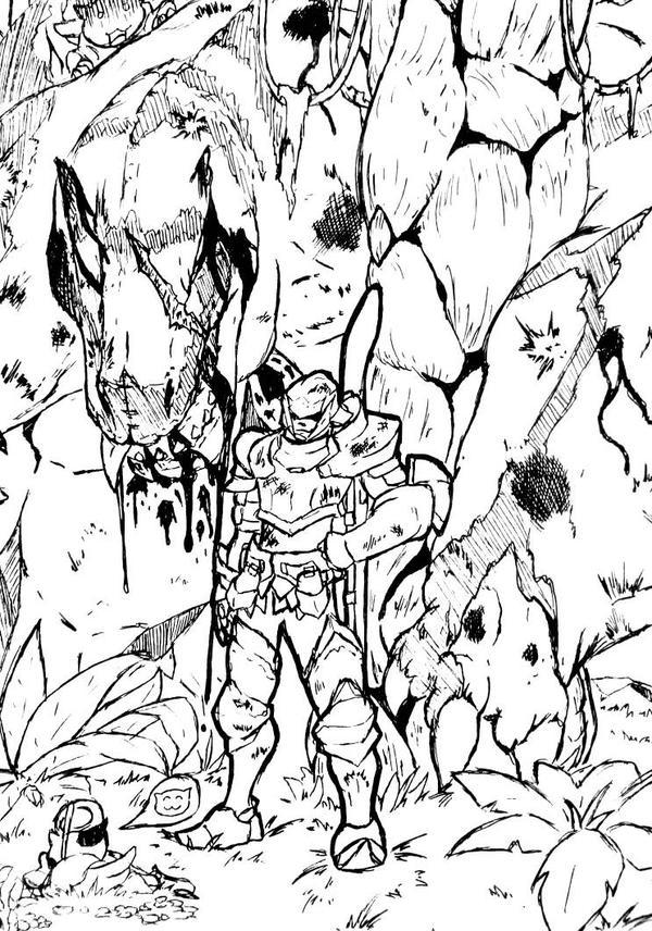 Monster Hunter Tigrex by SirSka