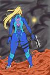 Zero Suit Samus- Stand Up by SirSka