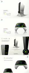 Xbox touch Concept Design by darpan-aero