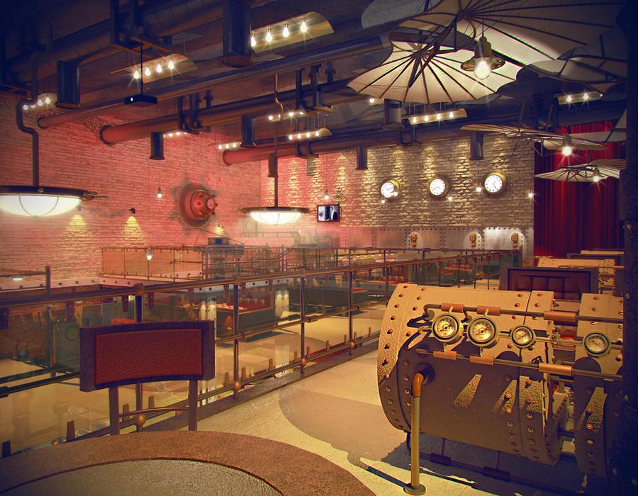 Steampunk Interior 4 By Pavelli86 On Deviantart