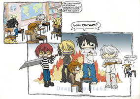 Death Note... High School? by DragonSpirit469