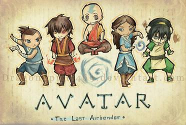 Chibi Avatar Tribute by DragonSpirit469