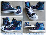 Custom Doctor Who Converse!