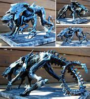 Xenomorph Alien Queen Sculpture