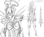 Alien Queen armor concept