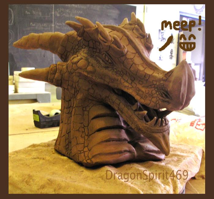 .: Ceramics Dragon :. by DragonSpirit469