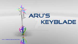 Aru's Keyblade -3D model-