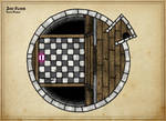 Tower of the Mad Wizard (2nd Floor - Coloured)