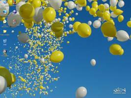 balloons by ewejka