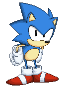 Sonic (Sonic Mania) PIXEL ART by FoxMT