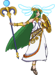 Palutena PIXEL ART by FoxMT