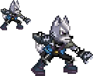Wolf O' Donnell SPRITE by FoxMT