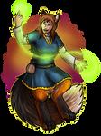 Linn sorcerer with fae dealings