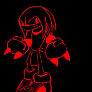 Knuckles avatar by jawzun on deviantart for Deviantart vrchat avatars