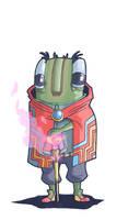 little alien wizard dude... by nichangell