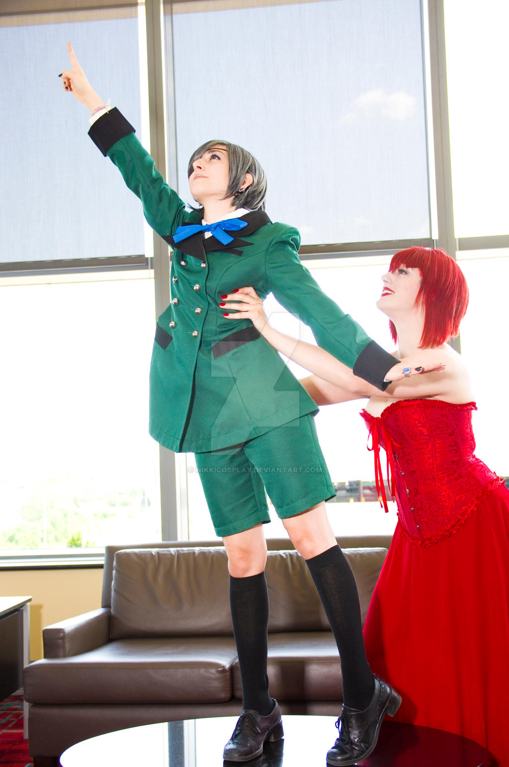 Reach for the stars! by NikkiCosplay