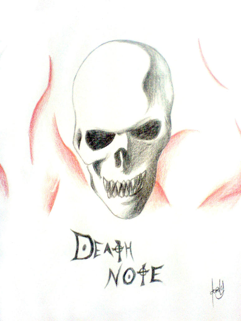 Skull of death note by Alfteconish on DeviantArt