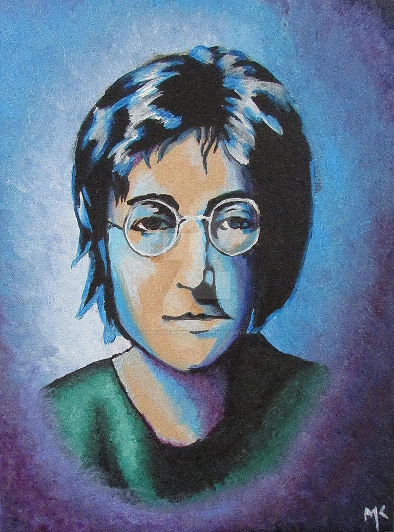 John Lennon by aBookReadersLife
