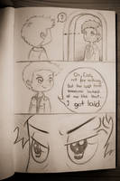 chibi SPN: one pissed off angel by katsempire