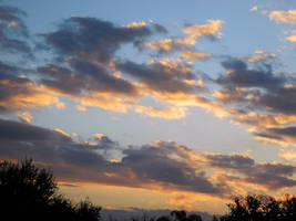 Evening skies and clouds 1-13-19 (1) by knighttemplar1