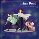 Amy Pond and the Poncho Boys by YuukiHikari